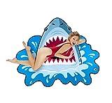 BigMouth Inc Giant Shark Bite Beach Blanket, Oversized Beach Towel, Ulta-Soft Microfiber Towel, 5 Feet Wide, Washing Machine Friendly