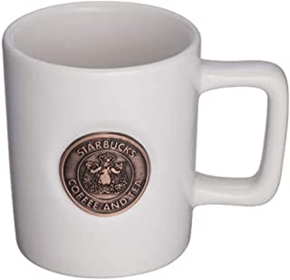 STARBUCKS スターバックス スタバ デミタスマグ マグカップ エスプレッソ ミニ min 陶器 89ml 白 ホワイト コーヒー 女神 人魚 セイレーン セイレン