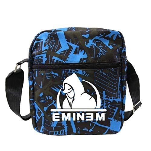 KFMB Eminem patrón Casual Mochila Deportiva Bandolera Bolsa de Mensajero Mochila de Viaje de Gran Capacidad al Aire Libre (5)