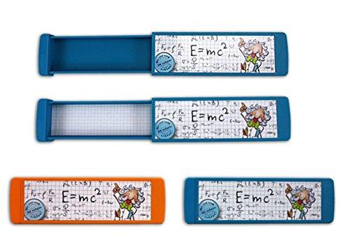 TRENDHAUS - Spicker Stifte-Box Schlaumeier 2fach Farbe orange