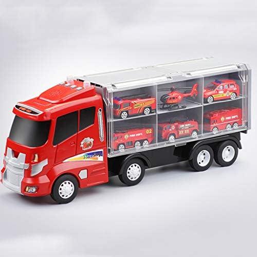 LSXLSD Kinder Größes Spielzeug Feuertechnik Modell Inertia Auto Legierung gesetzt Spielzeug