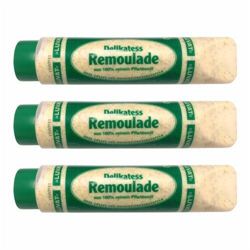 3x Luvat 'Delikatess Remoulade', 875 ml