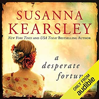 A Desperate Fortune audiobook cover art
