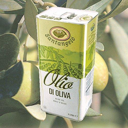 アウトレット サンタンジェロ オリーブオイル (ピュアオイル) 5L缶 イタリア ラツィオ産 訳あり