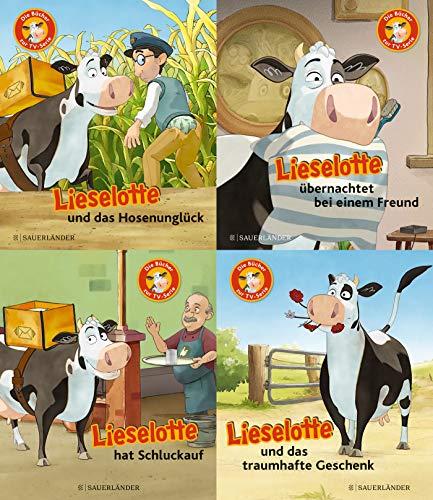 Lieselotte TV Minis 4er-Set. Die Bücher zur Serie: Lieselotte und das Hosenunglück. Lieselotte übernachtet bei einem Freund. Lieselotte und das traumhafte Geschenk. Lieselotte hat Schluckauf