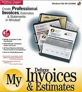 My Deluxe Invoices Estimates