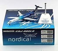 1:200 アドリア航空 ボンバルディア 合金飛行機 XX2365CRJ-900