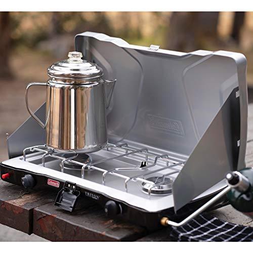 Product Image 11: Coleman Gas Camping Stove   Triton+ Propane Stove, 2 Burner