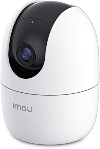 Imou Indoor Wi-Fi Security Camera, 1080P Pan/Tilt Dome Camera, Home Surveillance Camera with Human Detection, Smart T...