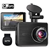 GPS Dash Cam, OIIEE Car Driving Recorder FHD 1080P DVR in Car Camera Sony Sensor...