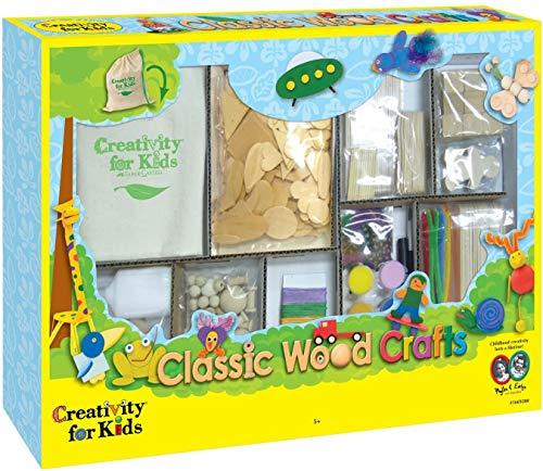 Creativity for Kids - Cfk1669 - Kit De Loisirs Créatifs - Petits Travaux en Bois Classiques