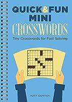 Quick & Fun Mini Crosswords: Tiny Crosswords for Fast Solving