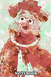 Notebook: Fozzie Bear , Journal for Writing, College Ruled Size 6