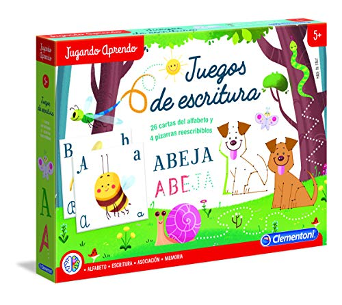 Clementoni- Juego Educativo aprende a Escribir, Multicolor, Miscelanea (65599.1)