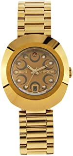 Rado Original Rose Gold-Toned Analog Watch for Women R12416383