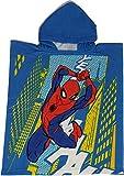 Disney Marvel Spiderman Poncho with Microfiber Hood Ideal as Beach Towel or Pool