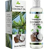 Coconut Oil for Skin Care – Pure Fractionated Coconut Oil for Hair Growth for Women & Men –...