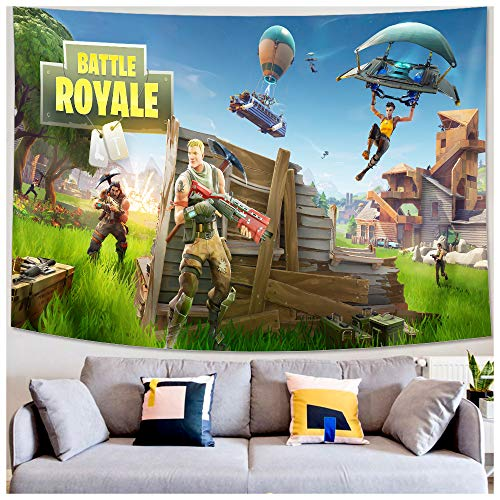Wall Tapestry - Video Game Party Supplies Decoration - Wall Hanging Beach Blanket Tablecloth Backdrop Handicrafts Polyester Fabric - Tabletop...