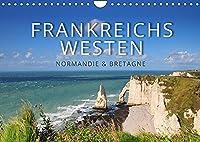 Frankreichs Westen - Normandie und Bretagne (Wandkalender 2022 DIN A4 quer): Highlights und Geheimtipps in der Normandie und der Bretagne (Monatskalender, 14 Seiten )