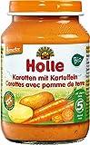 Holle Bio Karotten mit Kartoffeln (6 x 190 gr)