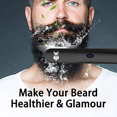 Beard-Straightener-for-Men-Beard-Straightening-Comb-with-CordlessMini-SizedAuto-Shut-OffAnti-Scald-for-Traveling-Home-Dating-Meeting-Camping-etc