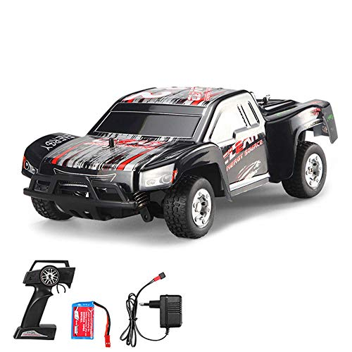Tera WLtoys Ferngesteuertes Auto Mini-Truck A999 Spielzeugauto 25 km/h Max. Speed inkl. 2.4GHz Fernbedienung USB-Ladekabel - Blau