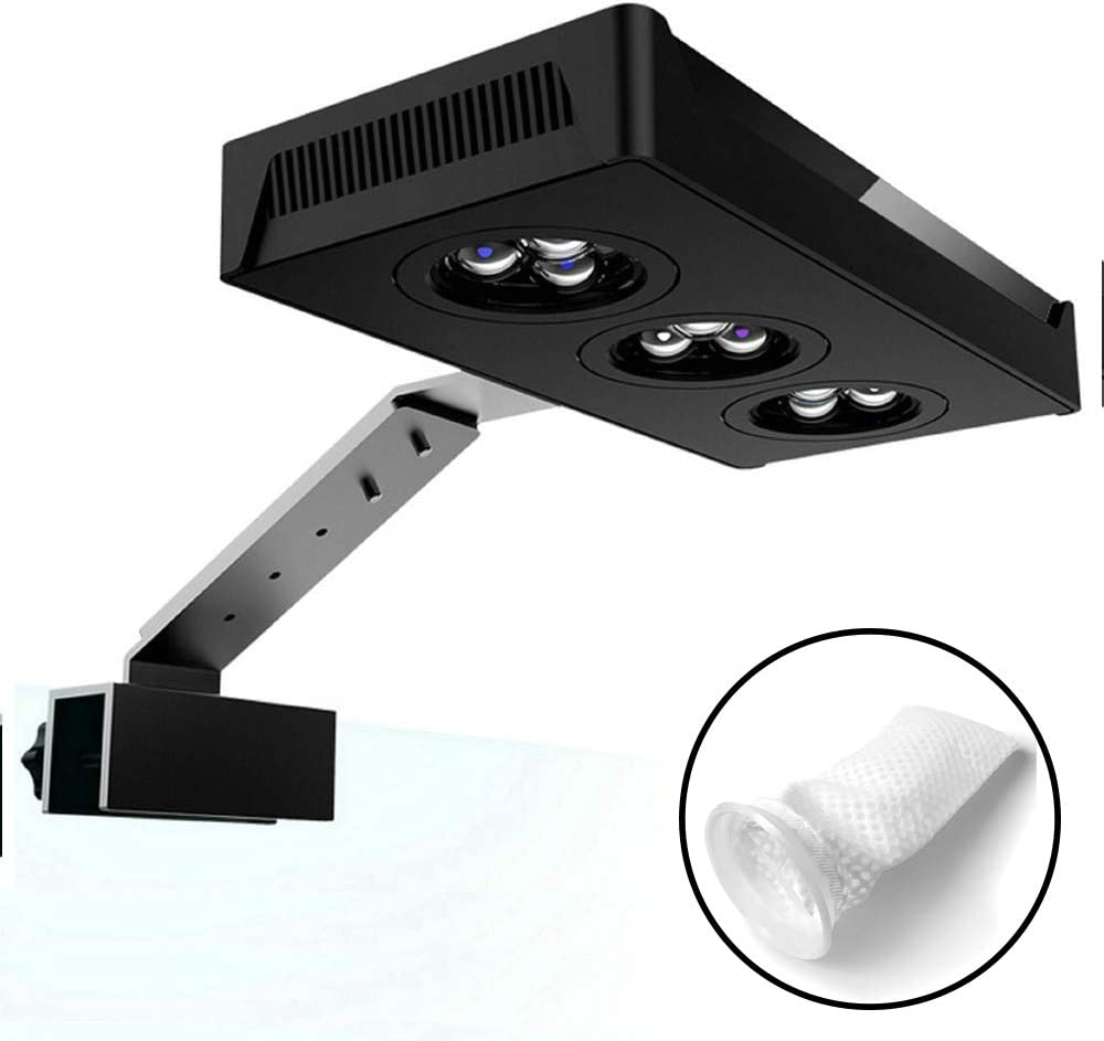 hipargero LED 4 years warranty Aquarium Light - 30W Limited time sale Saltwater