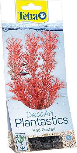 Tetra DecoArt künstliche Wasser-Pflanzen für das Aquarium, naturgetreue Nachbildung, Red Foxtail