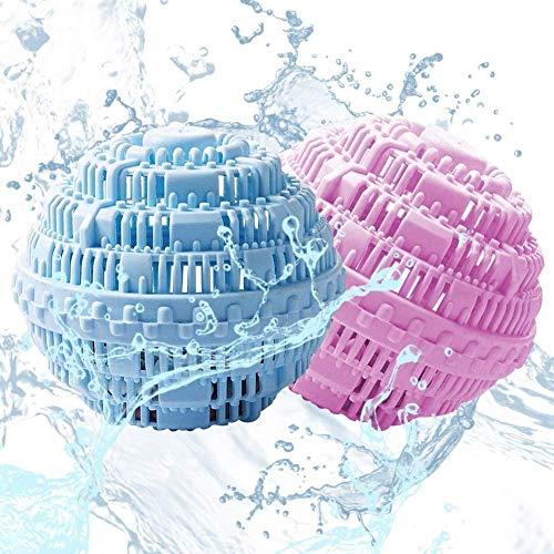 ZALA Waschkugel - Eco Waschkugel mit Vier Mineralienarten Waschmittel/Nachhaltig/Umweltschonend/Antibakteriell Öko Wäscheball- Bis zu 1000 Wäschen