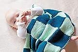 BellaLotta Strickanleitung Babydecke Schlummerland - 62x52 und 72x72cm, für Anfänger mit Ausdauer - digital