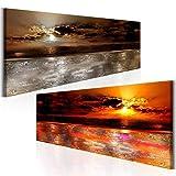 Zoom IMG-1 arte moderna della parete tramonto