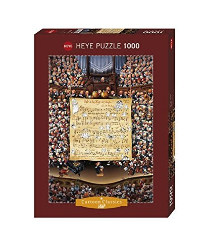 Heye Cartoon Score Loup Puzzles (1000-Piece) by Heye