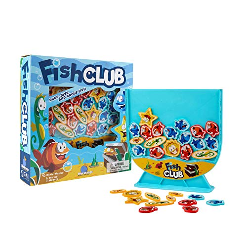 Fish Club Game - Children's Game for 2 Players. Recommended for Ages 5 and up. by Blue Orange Games