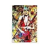 wangfan Randy Rhoads Ozzy Osbourne Leinwand-Kunst-Poster