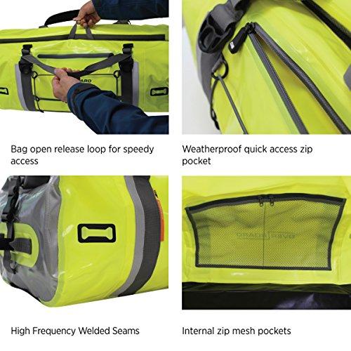 OverBoard Waterproof Pro-Vis Duffel Bag, Orange, 60-Liter