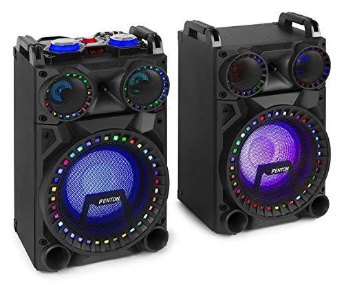 FENTON 178.360 VS10 - Juego de altavoces activos para fiestas y eventos