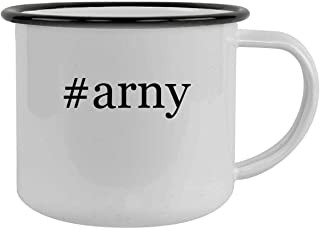 #arny - 12oz Hashtag Camping Mug Stainless Steel, Black