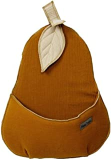 YUYDYU Panier de rangement en coton, sac de rangement pliable avec poignée, sac de rangement de jouets style poire à suspe...