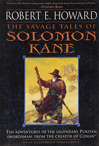 The Savage Tales of Solomon Kane 0739450336 Book Cover