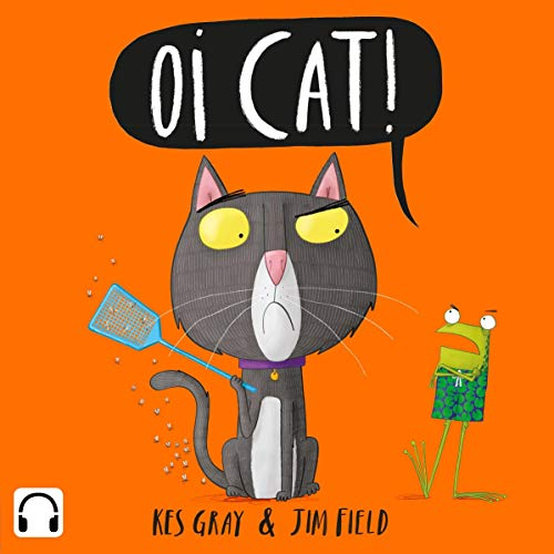 Oi Cat! audiobook cover art