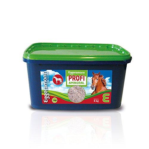 Eggersmann Mein Pferdefutter - Eggersmann Profi Aminoral 6 Kg – Ergänzungsfuttermittel für Pferde – Unterstützung Einer lockeren und elastischen Muskulatur