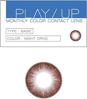 PLAY/UP(プレイアップ) カラーコンタクトレンズ 【マンスリー】 BTS 防弾少年団 NIGHT DRIVE ブラウン ±0.00 1枚入り