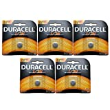 5x Duracell Photo DL CR1/3N 2L76 3V Lithium Battery Replaces Duracell DL-1/3N, 3N, Ray-O-Vac 867, 2L76, Energizer 2L76BP, 2L76-BP, CR1108, IEC CR11108, CR1-3N, DL1-3N, Comp 15, Duracell DL1/3N, NL1/3N