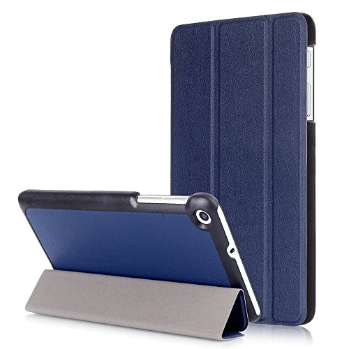 Kepuch Custer Cover per Huawei MediaPad T1 7.0/T2 7.0,PU-Pelle Case Custodia per Huawei MediaPad T1 7.0/T2 7.0 - Blu