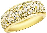 Noelani Damen-Ring Swarovski Elements Kristall gold gelbvergoldet - 9131365