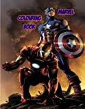 MARVEL COLOURING BOOK: Fantastic Marvel action coloring book for kids and adults. Fun and quality websites (Swedish Edition)