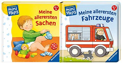 Ravensburger Ministeps - Juego de libros para niños (a partir de 6 meses)