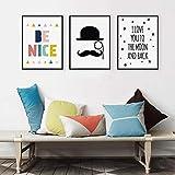 Carteles modernos de bricolaje 5D con frases románticas para la vida, carteles de pared, cuadros, lienzos, arte en aerosol para decoración de interiores o casas