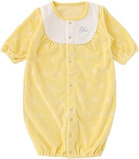(チャックル) chuckle * ボンシュシュ * パステル 星型 ベロア 新生児 ツーウェイオール イエロー 50-60cm P5277-00-41