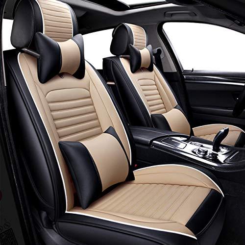 MDJFB pour Accessoires de Housses de siège Auto pour Ford Focus 2 3s Max Fiesta kuga Ranger | Mondeo mk3 Fusion ,Deluxe Edition2